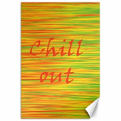 Chill Out Canvas 20  X 30   by Valentinaart