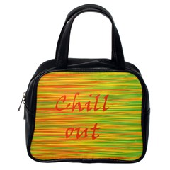 Chill Out Classic Handbags (one Side) by Valentinaart