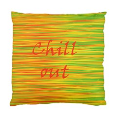 Chill Out Standard Cushion Case (one Side) by Valentinaart