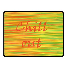 Chill Out Fleece Blanket (small) by Valentinaart