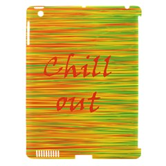 Chill Out Apple Ipad 3/4 Hardshell Case (compatible With Smart Cover) by Valentinaart