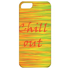 Chill Out Apple Iphone 5 Classic Hardshell Case by Valentinaart