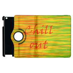Chill Out Apple Ipad 3/4 Flip 360 Case by Valentinaart