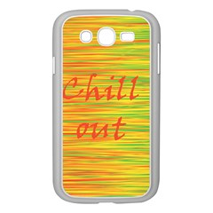 Chill Out Samsung Galaxy Grand Duos I9082 Case (white) by Valentinaart
