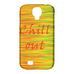 Chill Out Samsung Galaxy S4 Classic Hardshell Case (pc+silicone) by Valentinaart