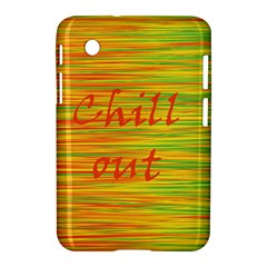Chill Out Samsung Galaxy Tab 2 (7 ) P3100 Hardshell Case  by Valentinaart