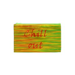 Chill Out Cosmetic Bag (xs) by Valentinaart