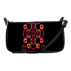 LETTER R Shoulder Clutch Bags