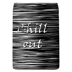 Black An White  chill Out  Flap Covers (s)  by Valentinaart
