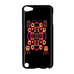 Alphabet Shirt Apple Ipod Touch 5 Case (black)