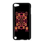 Alphabet Shirt Apple iPod Touch 5 Case (Black) Front