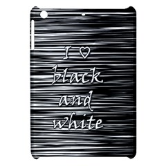 I love black and white Apple iPad Mini Hardshell Case