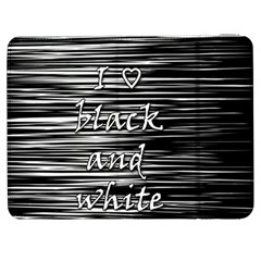I love black and white Samsung Galaxy Tab 7  P1000 Flip Case