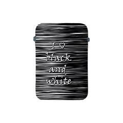 I love black and white Apple iPad Mini Protective Soft Cases