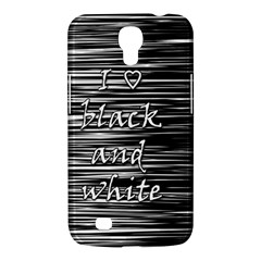I love black and white Samsung Galaxy Mega 6.3  I9200 Hardshell Case