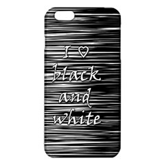 I love black and white iPhone 6 Plus/6S Plus TPU Case