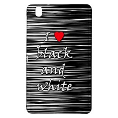 I love black and white 2 Samsung Galaxy Tab Pro 8.4 Hardshell Case