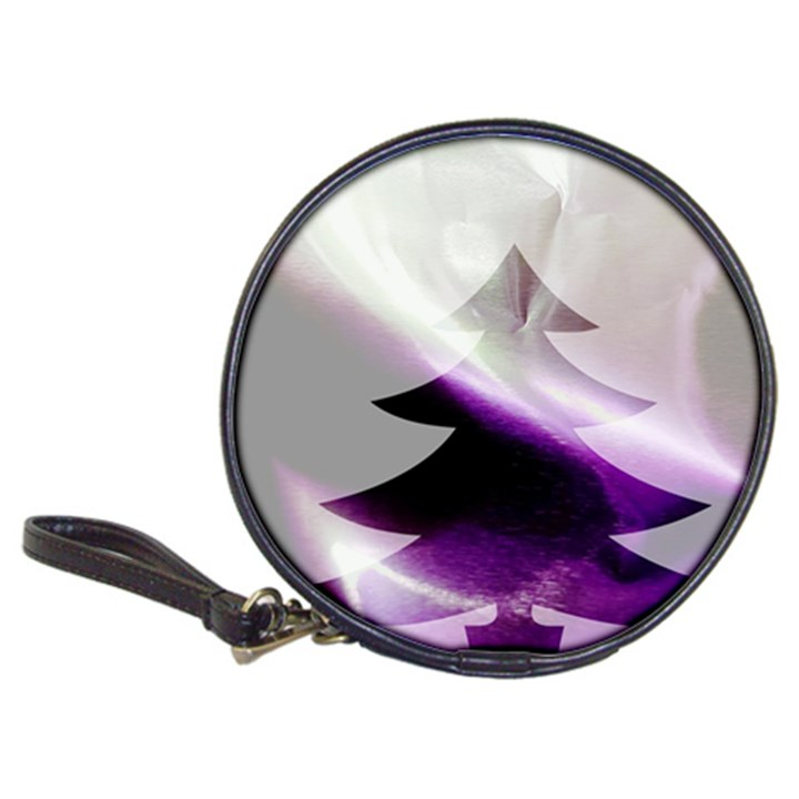 Purple Christmas Tree Classic 20-CD Wallets