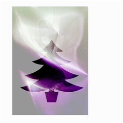 Purple Christmas Tree Large Garden Flag (Two Sides)