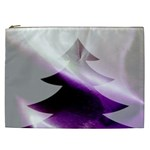 Purple Christmas Tree Cosmetic Bag (XXL)  Front