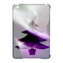 Purple Christmas Tree Apple iPad Mini Hardshell Case (Compatible with Smart Cover)