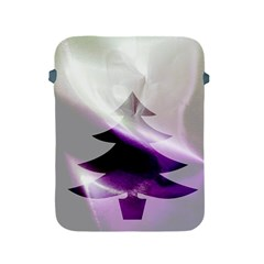 Purple Christmas Tree Apple Ipad 2/3/4 Protective Soft Cases by yoursparklingshop
