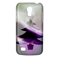 Purple Christmas Tree Galaxy S4 Mini by yoursparklingshop