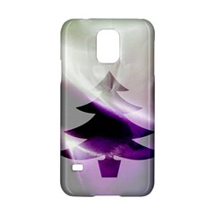 Purple Christmas Tree Samsung Galaxy S5 Hardshell Case  by yoursparklingshop