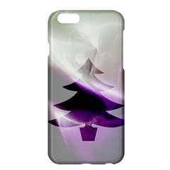Purple Christmas Tree Apple Iphone 6 Plus/6s Plus Hardshell Case by yoursparklingshop