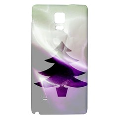 Purple Christmas Tree Galaxy Note 4 Back Case