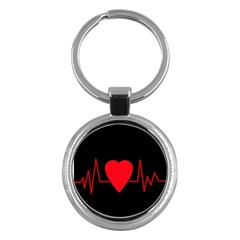 Hart bit Key Chains (Round)