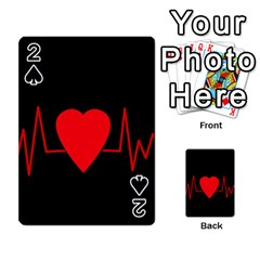 Hart bit Playing Cards 54 Designs