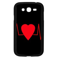 Hart bit Samsung Galaxy Grand DUOS I9082 Case (Black)
