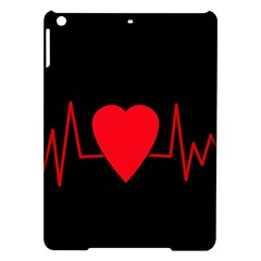 Hart bit iPad Air Hardshell Cases