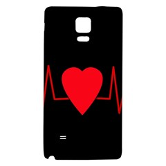 Hart bit Galaxy Note 4 Back Case
