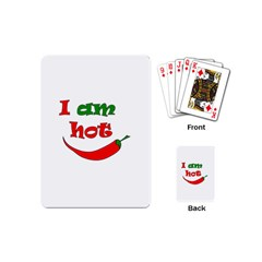 I am hot  Playing Cards (Mini)