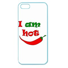 I am hot  Apple Seamless iPhone 5 Case (Color)