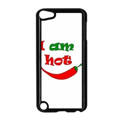 I am hot  Apple iPod Touch 5 Case (Black)