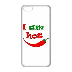 I am hot  Apple iPhone 5C Seamless Case (White)