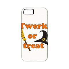 Twerk Or Treat   Funny Halloween Design Apple Iphone 5 Classic Hardshell Case (pc+silicone) by Valentinaart