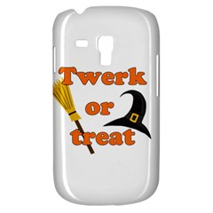 Twerk Or Treat   Funny Halloween Design Samsung Galaxy S3 Mini I8190 Hardshell Case by Valentinaart