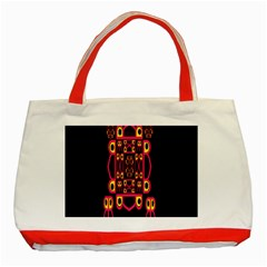 Alphabet Shirt Classic Tote Bag (red) by MRTACPANS