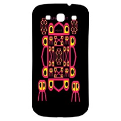 Alphabet Shirt Samsung Galaxy S3 S Iii Classic Hardshell Back Case by MRTACPANS