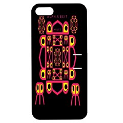 Alphabet Shirt Apple iPhone 5 Hardshell Case with Stand