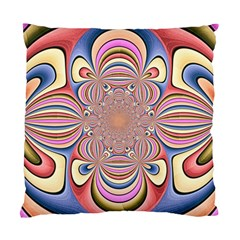 Pastel Shades Ornamental Flower Standard Cushion Case (two Sides) by designworld65
