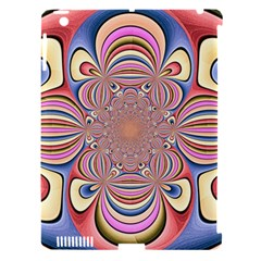 Pastel Shades Ornamental Flower Apple Ipad 3/4 Hardshell Case (compatible With Smart Cover) by designworld65