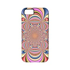 Pastel Shades Ornamental Flower Apple Iphone 5 Classic Hardshell Case (pc+silicone) by designworld65