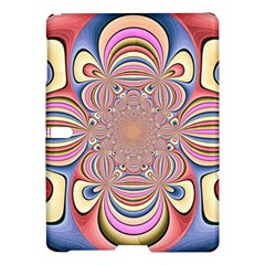 Pastel Shades Ornamental Flower Samsung Galaxy Tab S (10 5 ) Hardshell Case  by designworld65