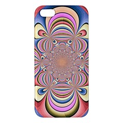Pastel Shades Ornamental Flower Iphone 5s/ Se Premium Hardshell Case by designworld65