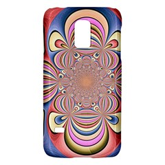 Pastel Shades Ornamental Flower Galaxy S5 Mini by designworld65